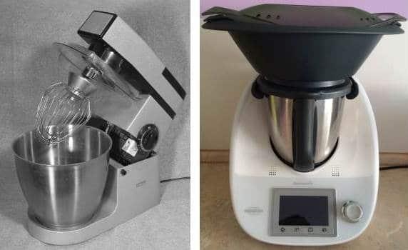 Küchenmaschine mit Kochfunktion Klassisch oder Kompakt