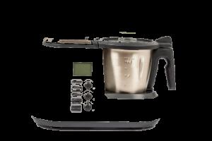 Küchenmaschine mit Kochfunktion und Waage