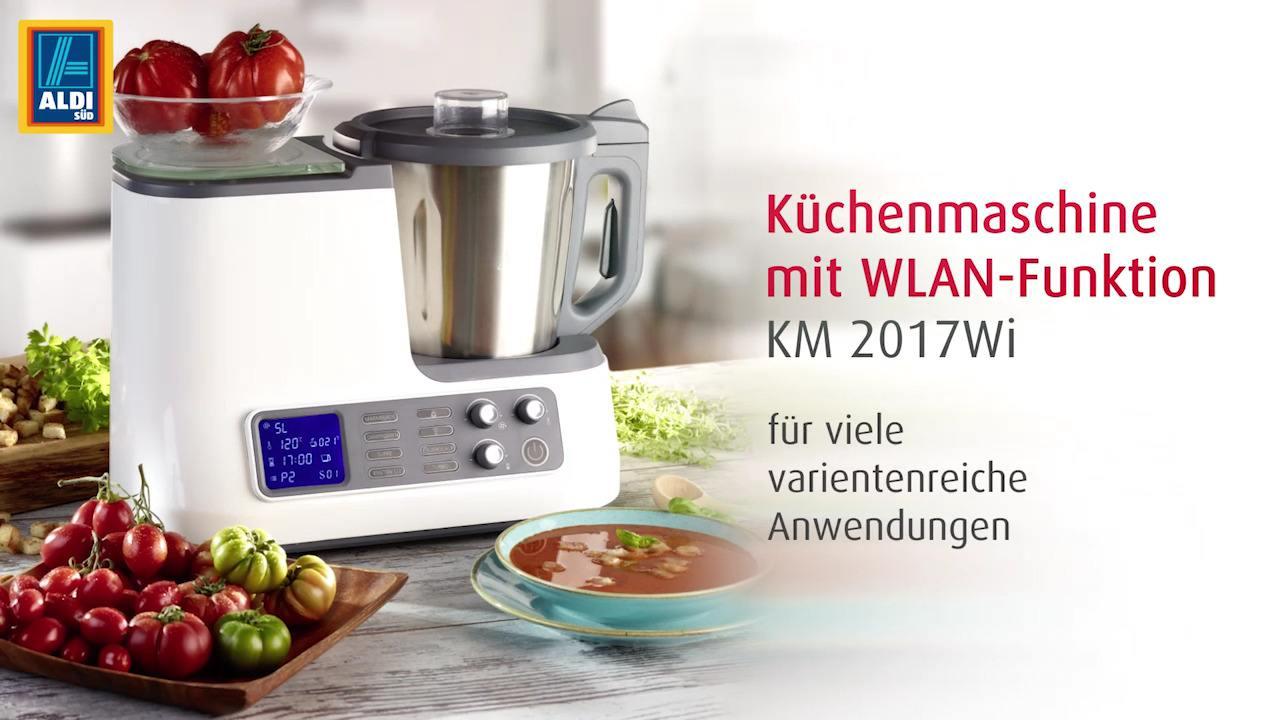 AMBIANO Küchenmaschine mit WLAN-Funktion